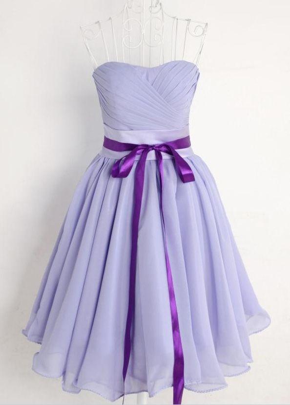 Vestido de fiesta plisado-violeta EUR€19.20 | *A fairy wedding ...
