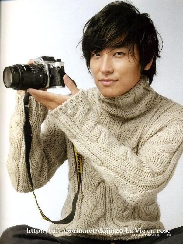 Joo Ji-Hoon . Now, I'm ready for winter.