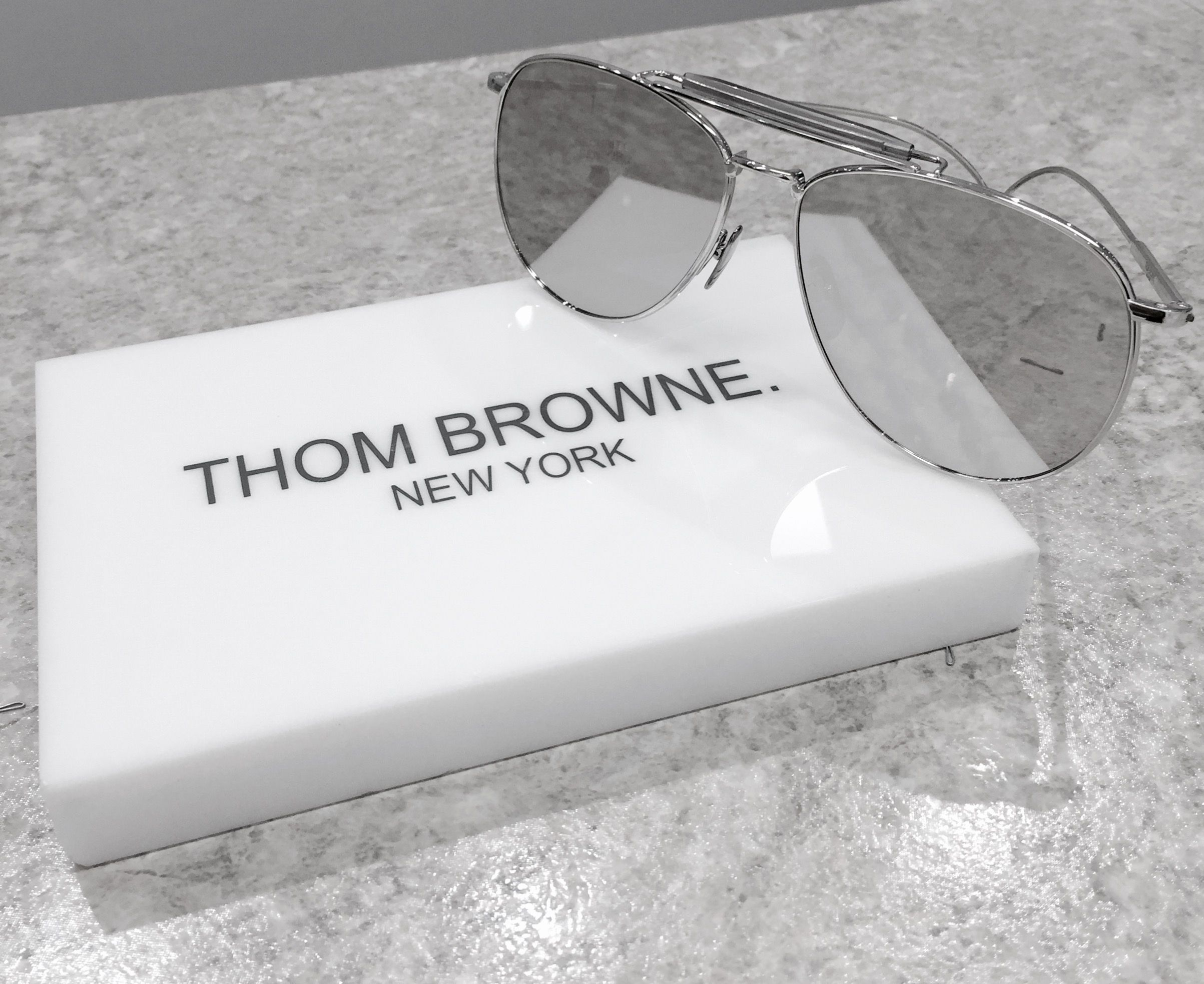 Classic #ThomBrowne style. #sunnies #charlottejonesopticians #CJO