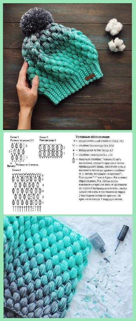 Pin de Magdalena Roszyk en crochet kids | Pinterest | Gorros, Tejido ...