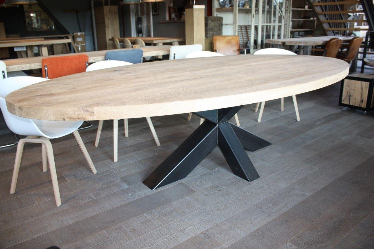 Ovale tafels - Zwaartafelen - Wonen l Eetkamer | Pinterest ...