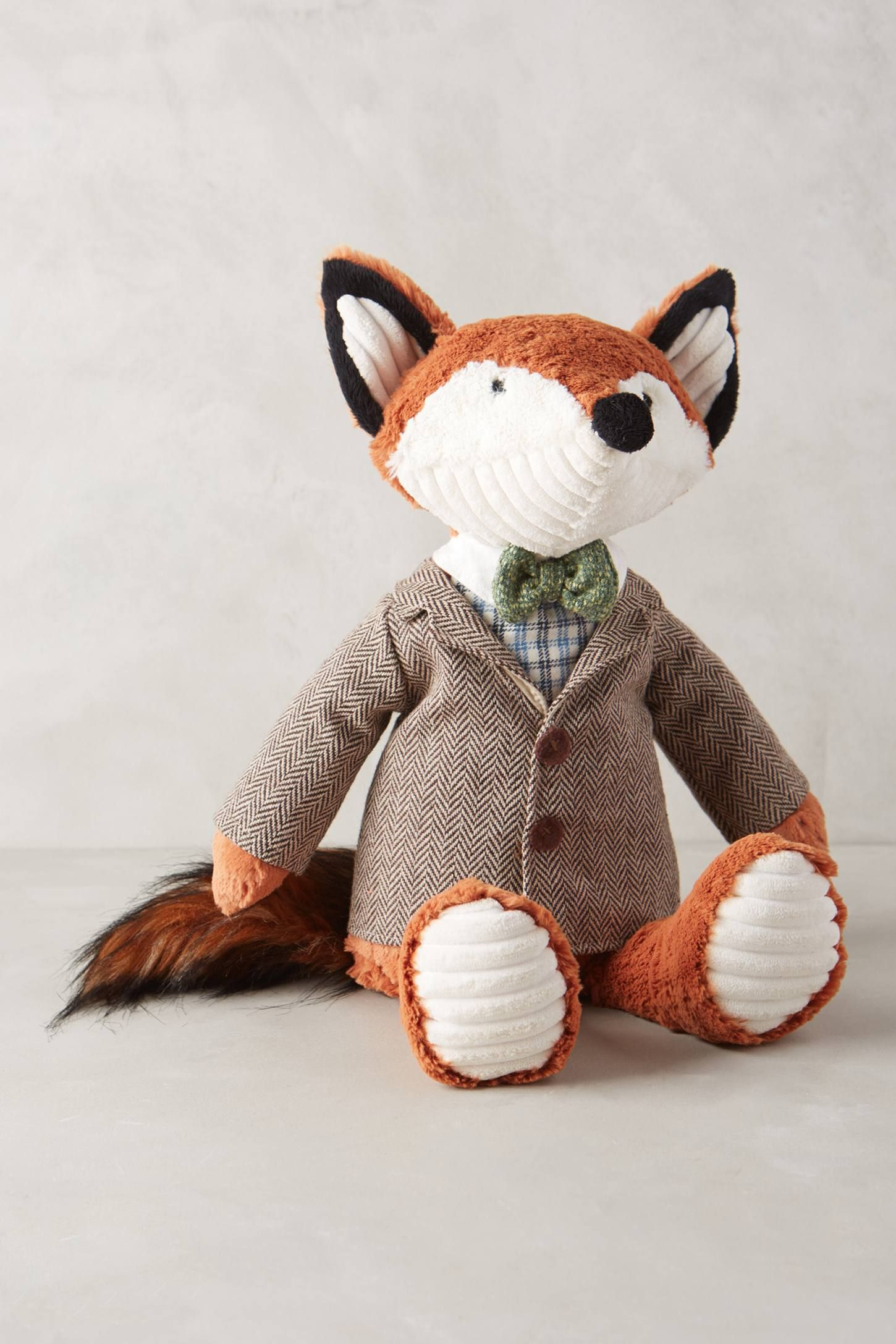 Father Fox Stuffed Animal Fox stuffed animal, Fox
