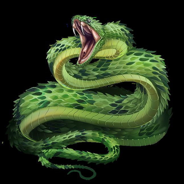 Viper Monsters Archives Of Nethys Pathfinder 2nd Edition Database Snake Monster Fantasy Creatures Art Snake Art