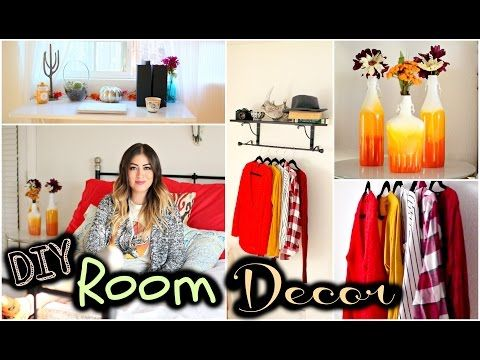 Diy Fall Room Decor Tumblr Inspired Youtube With Images