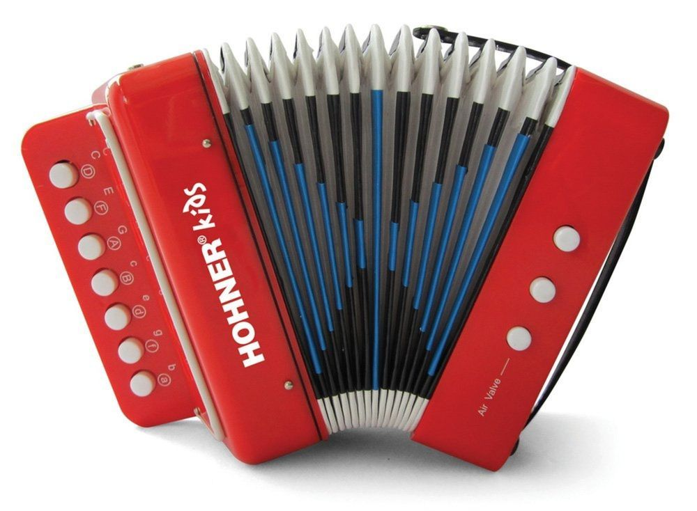 Musical Toy Accordion Effect Songbook Playing Instructions