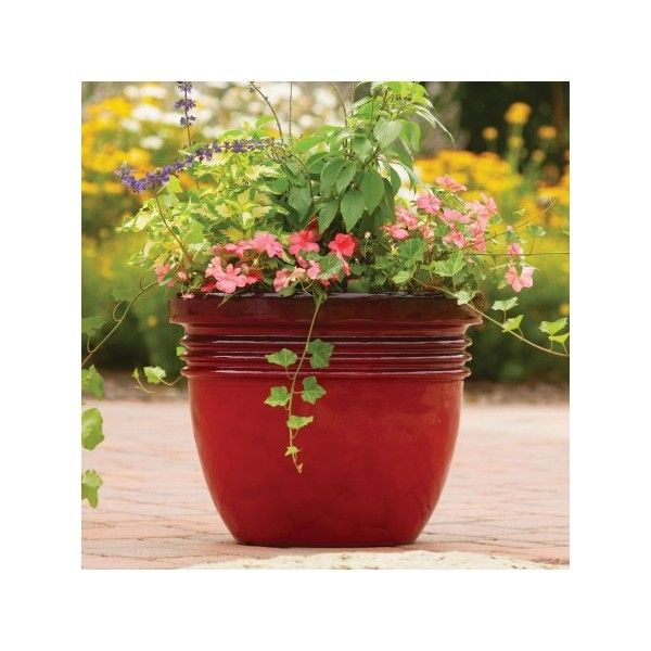 Better Homes And Gardens Bombay Decorative Planter, Red Sedona,... (8.310