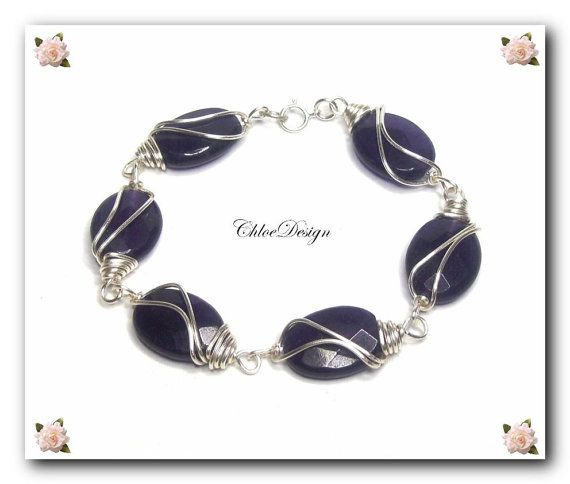 Wire Wrapping Tutorial: Elegance Bracelet / COUPONS by ChloeDesign