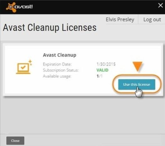 how to close down avast
