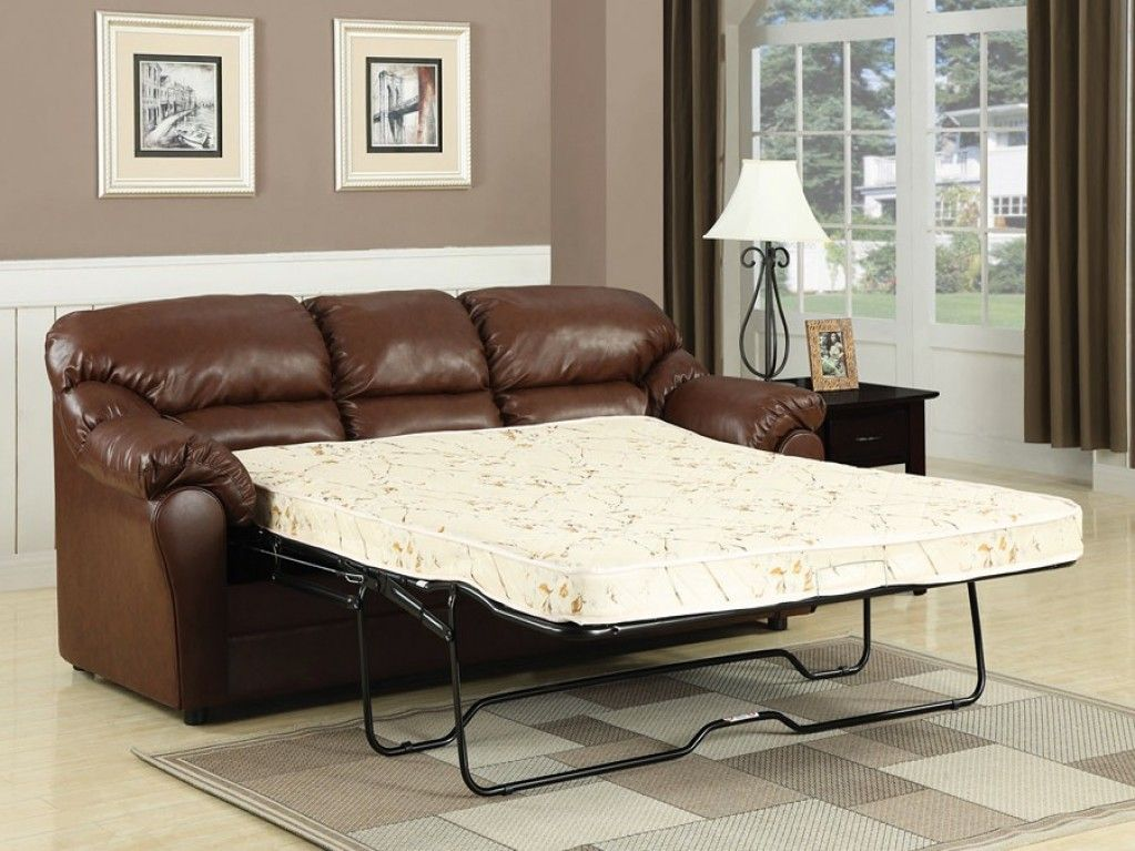 Cool Leather Pull Out Sofa Bed Outstanding 63 Sofas And