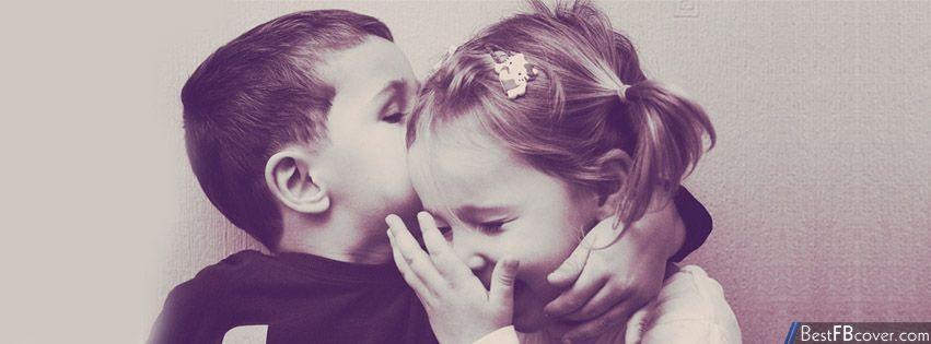 أغلفة فيس بوك للبنات مجموعة اغلفة فيس بناتية غلاف فيس بناتي Kids Kiss Cute Kids Child Love