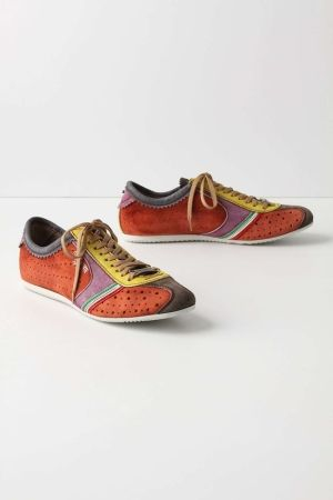 Blithe Spectrum Sneakers: With rubber soles, perforated suede and cheery color blocking, these would put a bounce in my step. by Jack Overland Frost