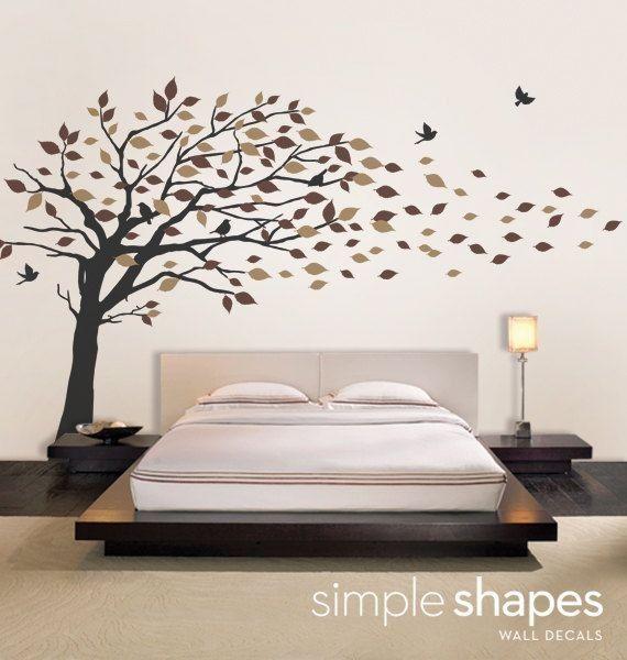 Wonderful DIY Tree Of Life Wall Sticker Decor   Wall Decor, Home Decor Part 18