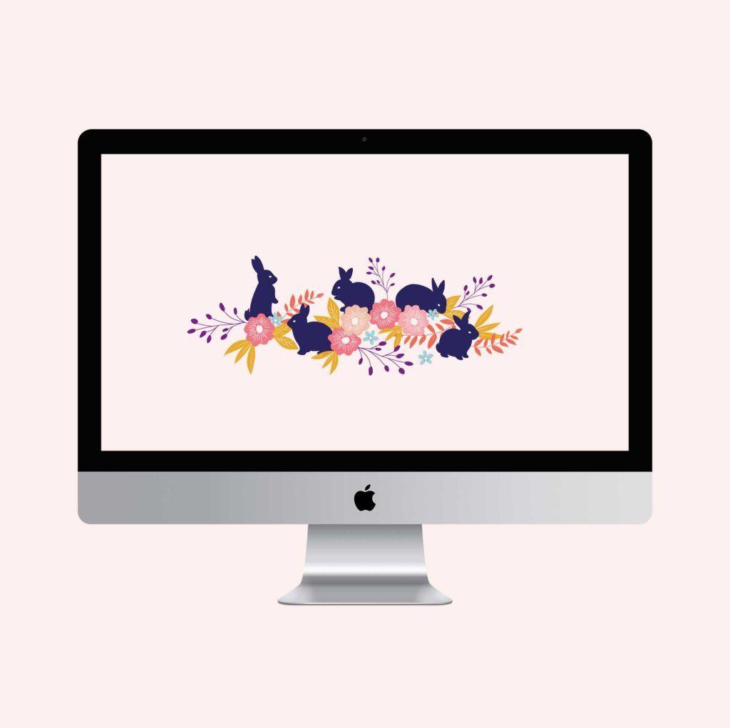 Bunny desktop, tablet and phone wallpaper Wallpaper