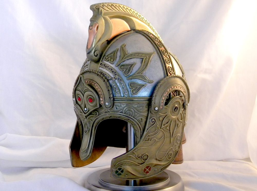 The Lord of the Rings: Helm of King Theoden on http://blindsquirrelprops.com/lord-rings-helm-king-theoden/