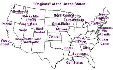 What Region Is Your State Located in? | Educate our Youth ...