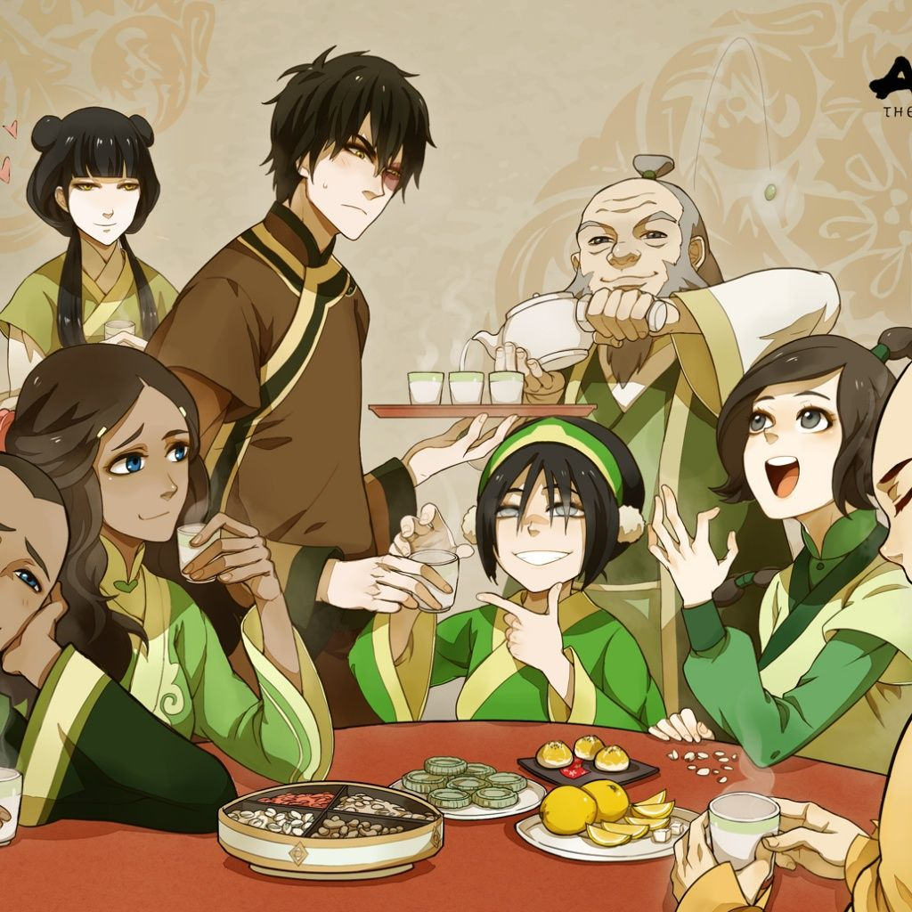 Avatar The Last Airbender Tea Time With Iroh And Friends