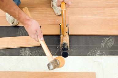What is the hardest wood flooring Douglas Fir This Is The Hardest Wood Flooring You Can Buy Worker Installing New Cumuru Hardwood Floor Nice House Design This Is The Hardest Wood Flooring You Can Buy Flooring Pinterest