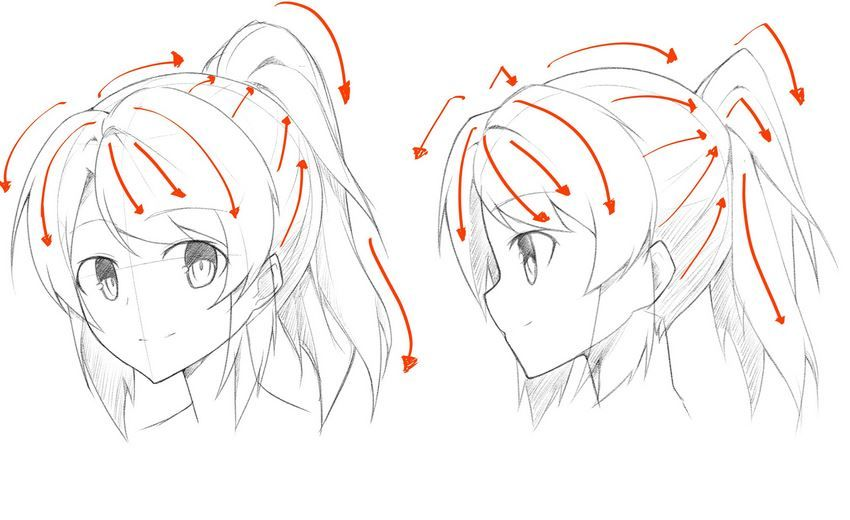 How To Draw Different Hairstyle