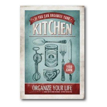 Vintage kitchen wall art. | cookbook | Pinterest | Kitchen wall art ...