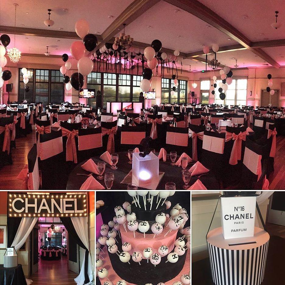 SundaySnapshot of Chanels overthetop Sweet 16 Birthday Party at