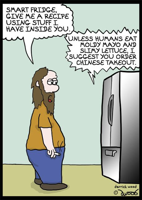 The smart fridge cartoon. Rogue Symmetry by Derrick G ...