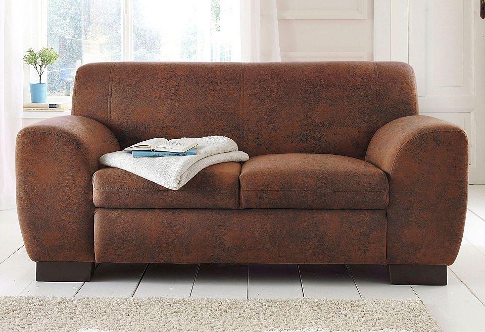 Home Affaire Sofa »Nika«, 2 Oder 3  Sitzer In Microfaser MELROSE Jetzt  Bestellen Unter: Https://moebel.ladendirekt.de/wohnzimmer/sofas /2 Und 3 Sitzer Sofas ... Home Design Ideas