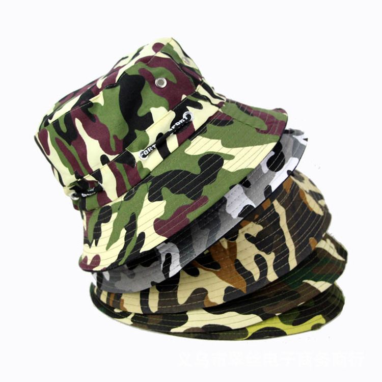 9f3d49a616109 High Quality Camouflage Boonie Hats Unisex Cotton Outdoor Military ...
