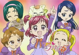 pretty cure 5 プリキュア アニメ