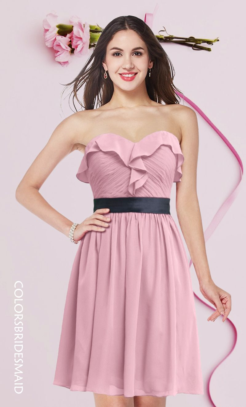 Lovely bridesmaid dress in rosebloom color bridesmaid dress lovely bridesmaid dress in rosebloom color ombrellifo Images