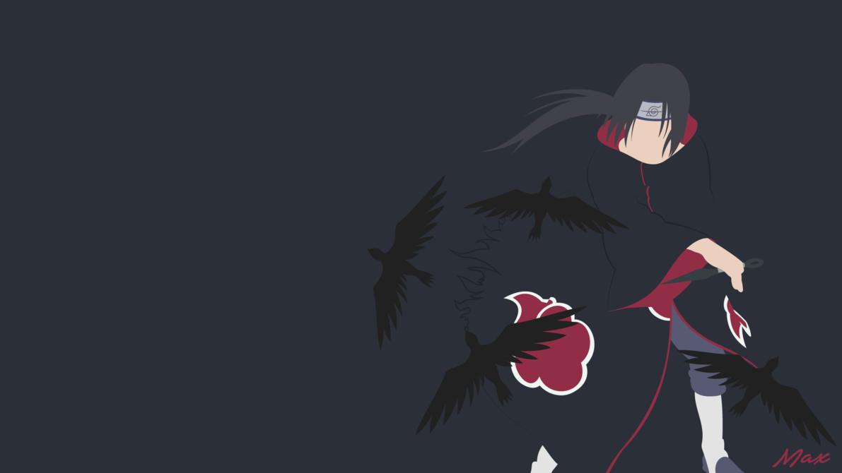 Itachi Uchiha (Naruto) Minimalist by Max028 | Itachi ...