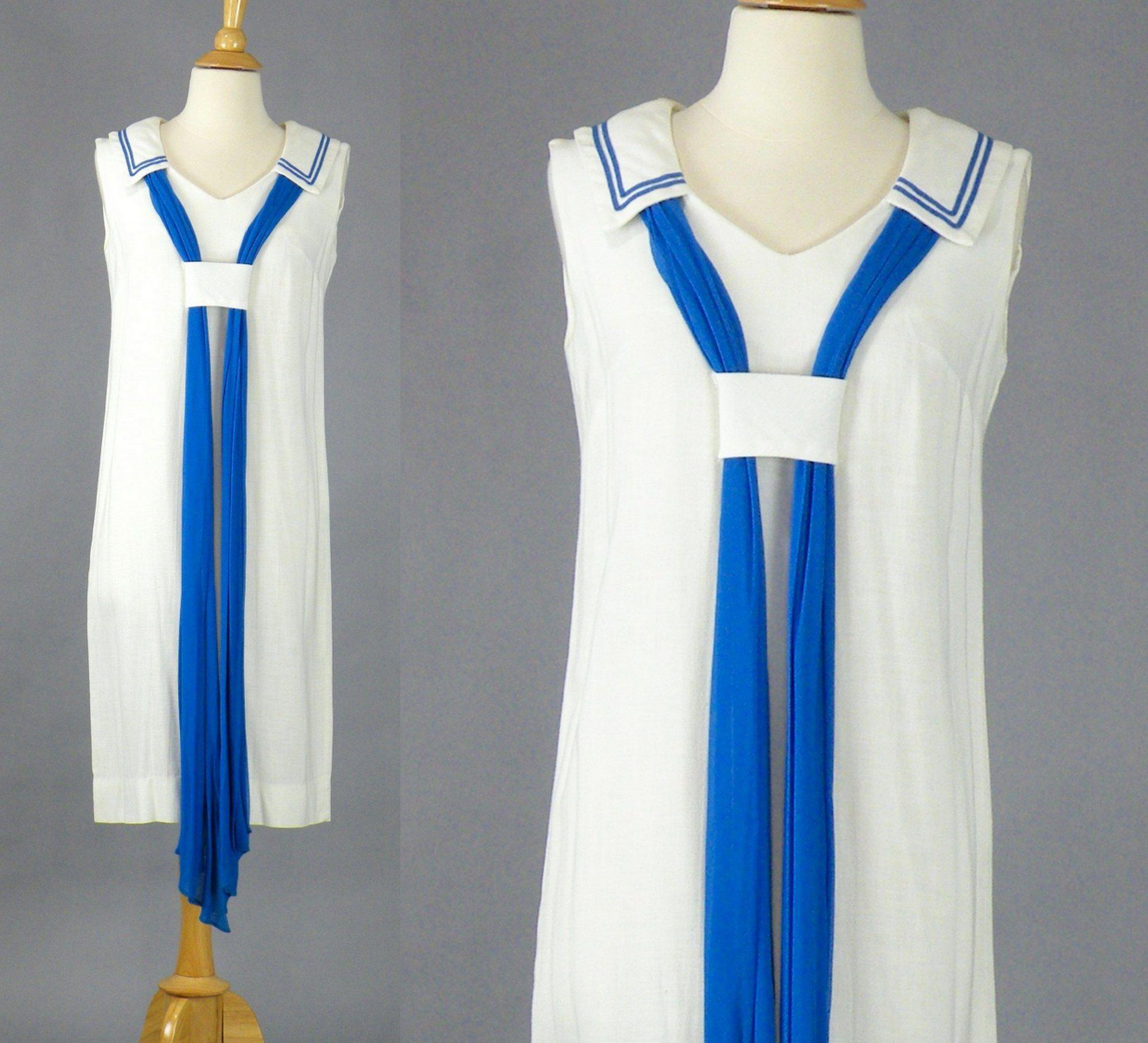 d6bce41e4ed Vintage 1960s Sailor Dress