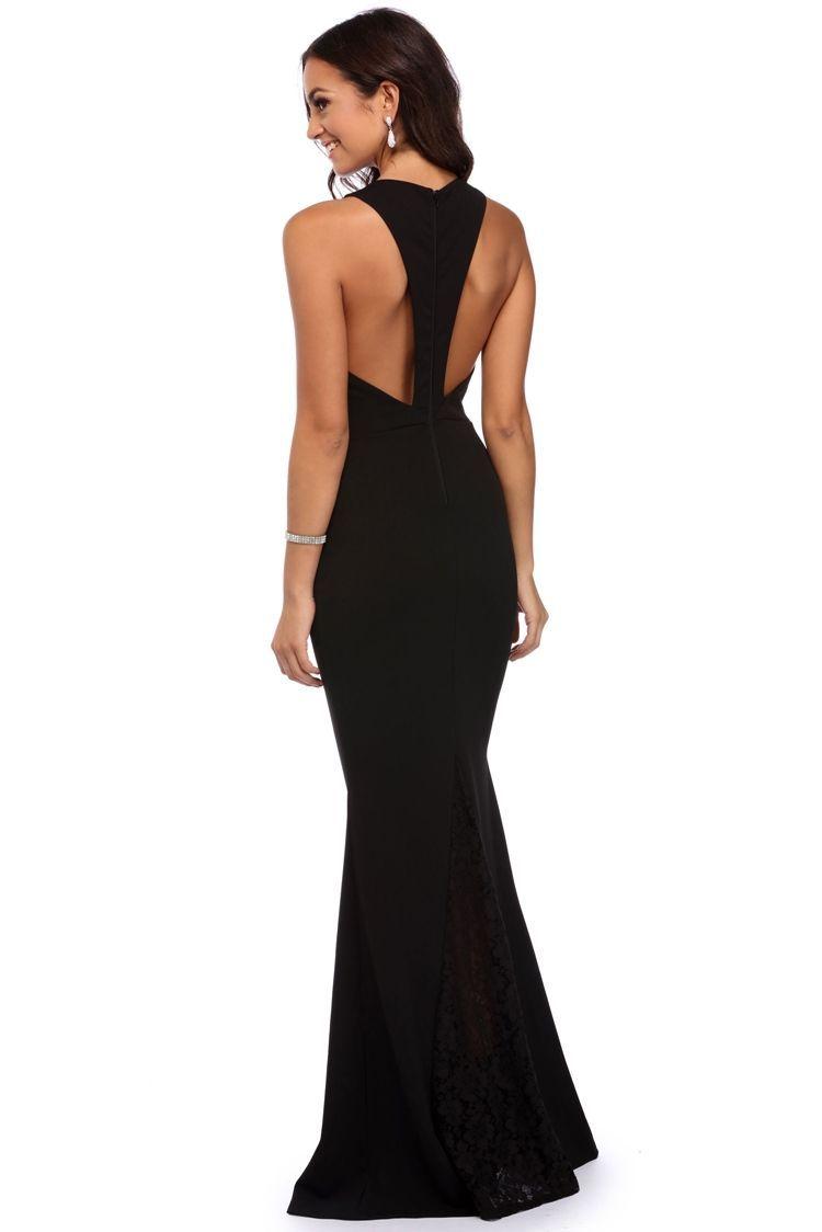 Maisie black lace crepe dress windsorcloud lexi pinterest