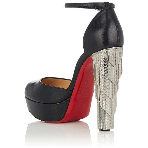 Womens Feerie Leather Platform Pumps Christian Louboutin GUStv