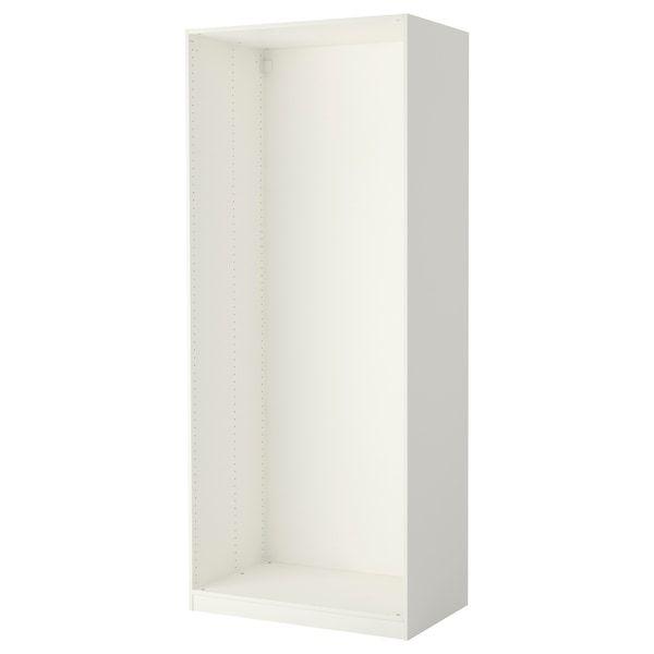 PAX Wardrobe frame white Pax wardrobe, Ikea pax, Ikea