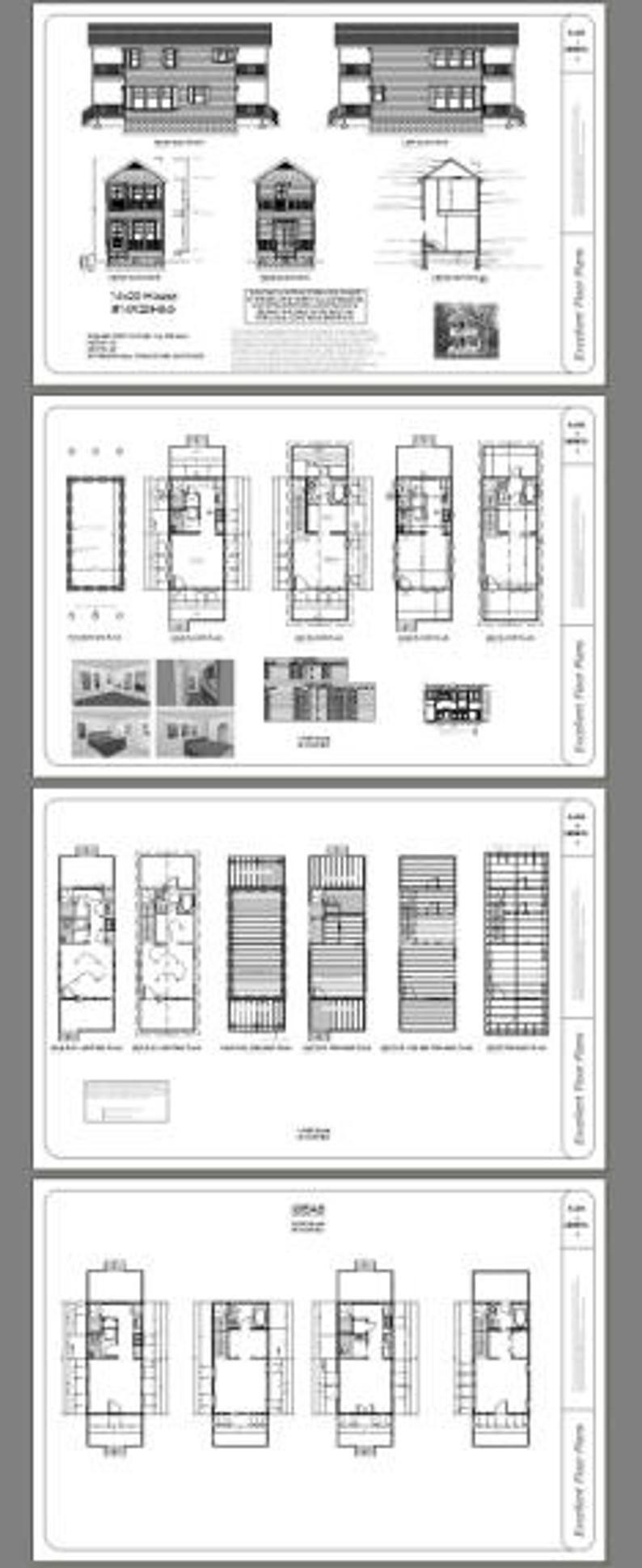 14x28 House 1Bedroom 1.5Bath 749 sq ft PDF