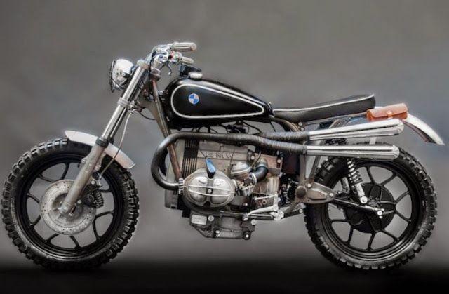 BMW R65 LS Adventure - RocketGarage - Cafe Racer Magazine