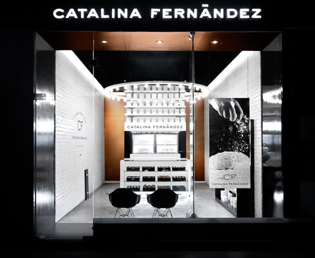 Catalina Fernandez boutique pastry shop in San Pedro, Mexico.
