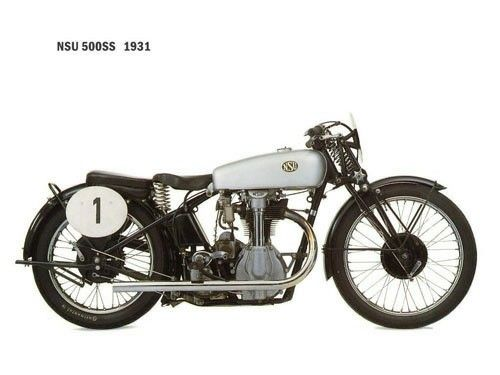 NSU 500 SS 1931 #classicmotorcycles #motos | caferacerpasion.com
