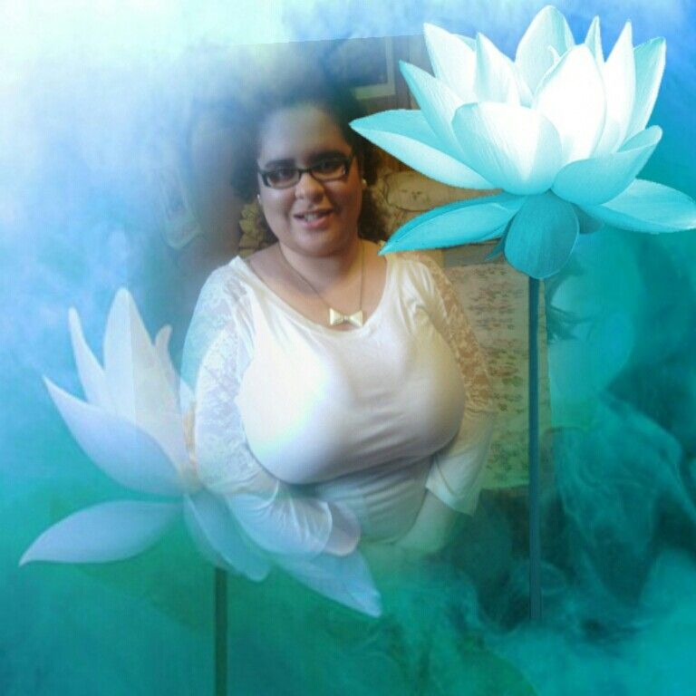 A beautiful lotus flower my daughter is