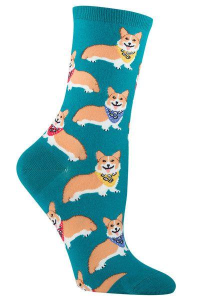 Corgis | Fun Animal Socks for Women | The Sock Drawer