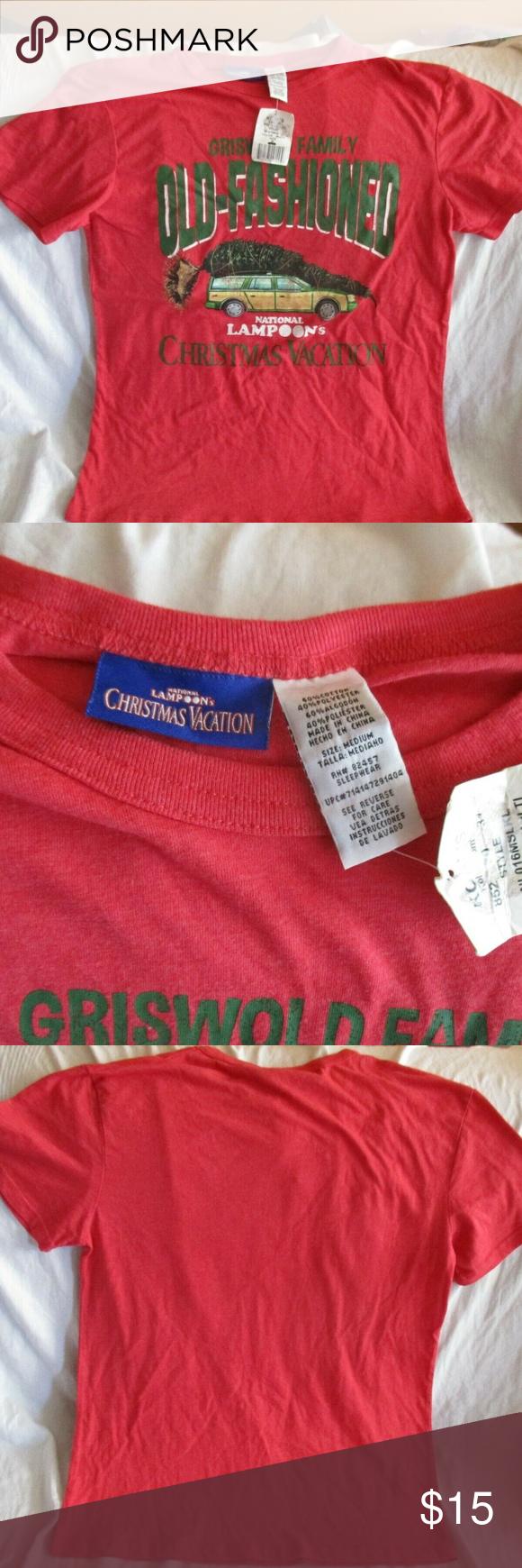 National Lampoon's Christmas Vacation T-shirt Nwt Nwt