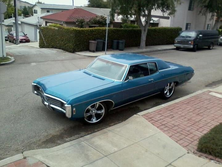 1969 Impala Yes It Was My 1st Car 327 Under The Hood And I
