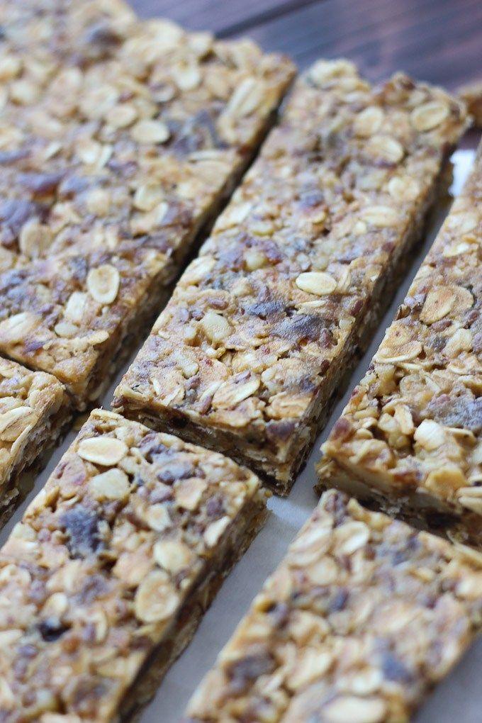 High Fiber Granola Bars Recipe High Fiber Foods Granola