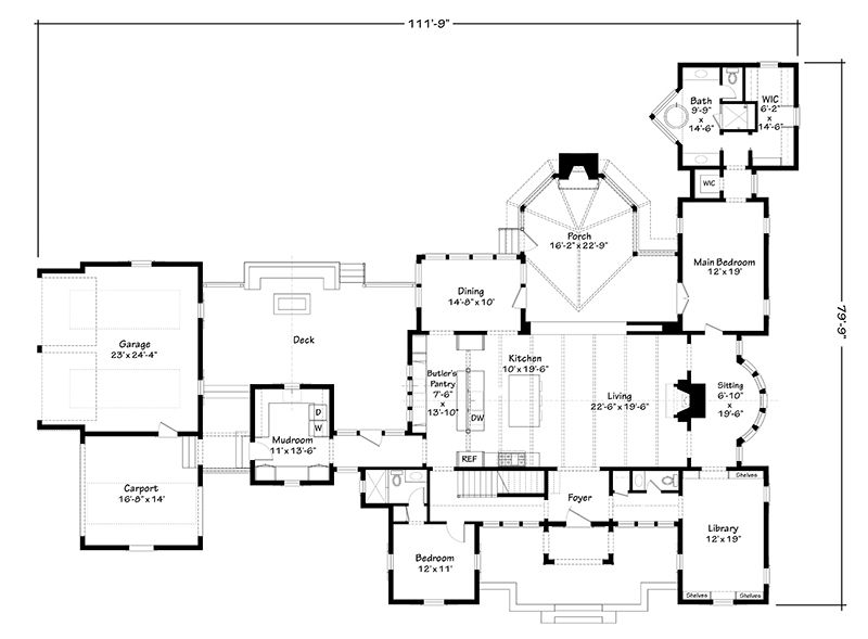 The Ramble Farmhouse Southern Living House Plans In 2021 Southern Living House Plans Farmhouse Floor Plans House Plans