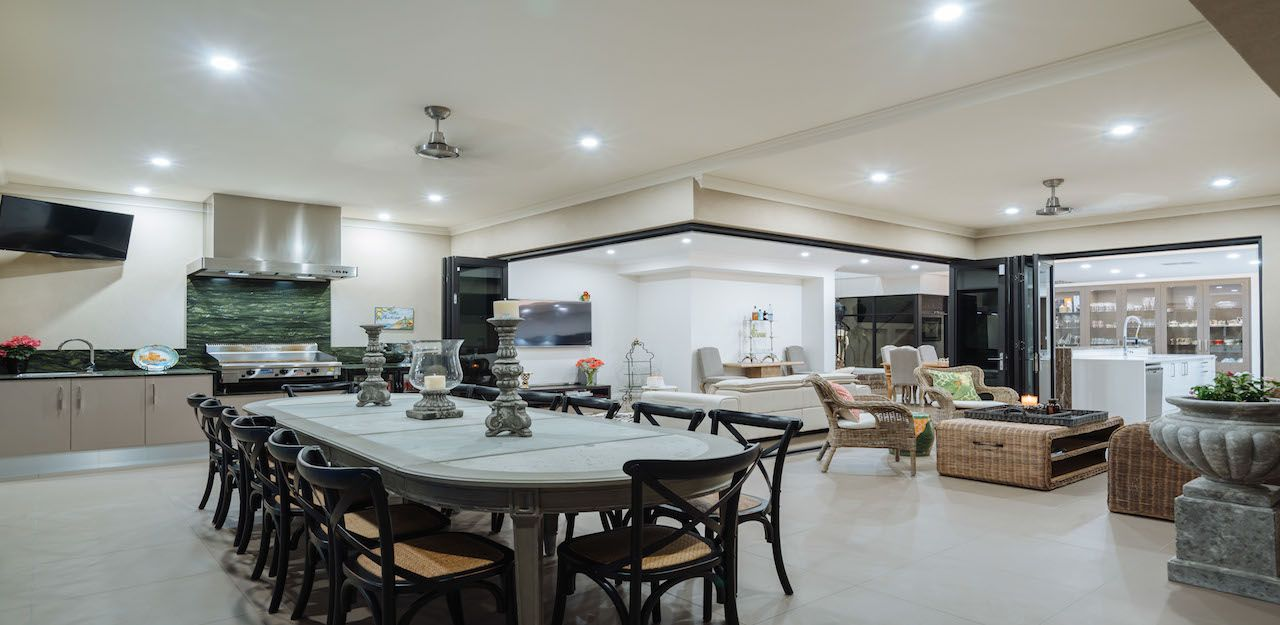 Bring your kitchen outdoors. House design, Custom home