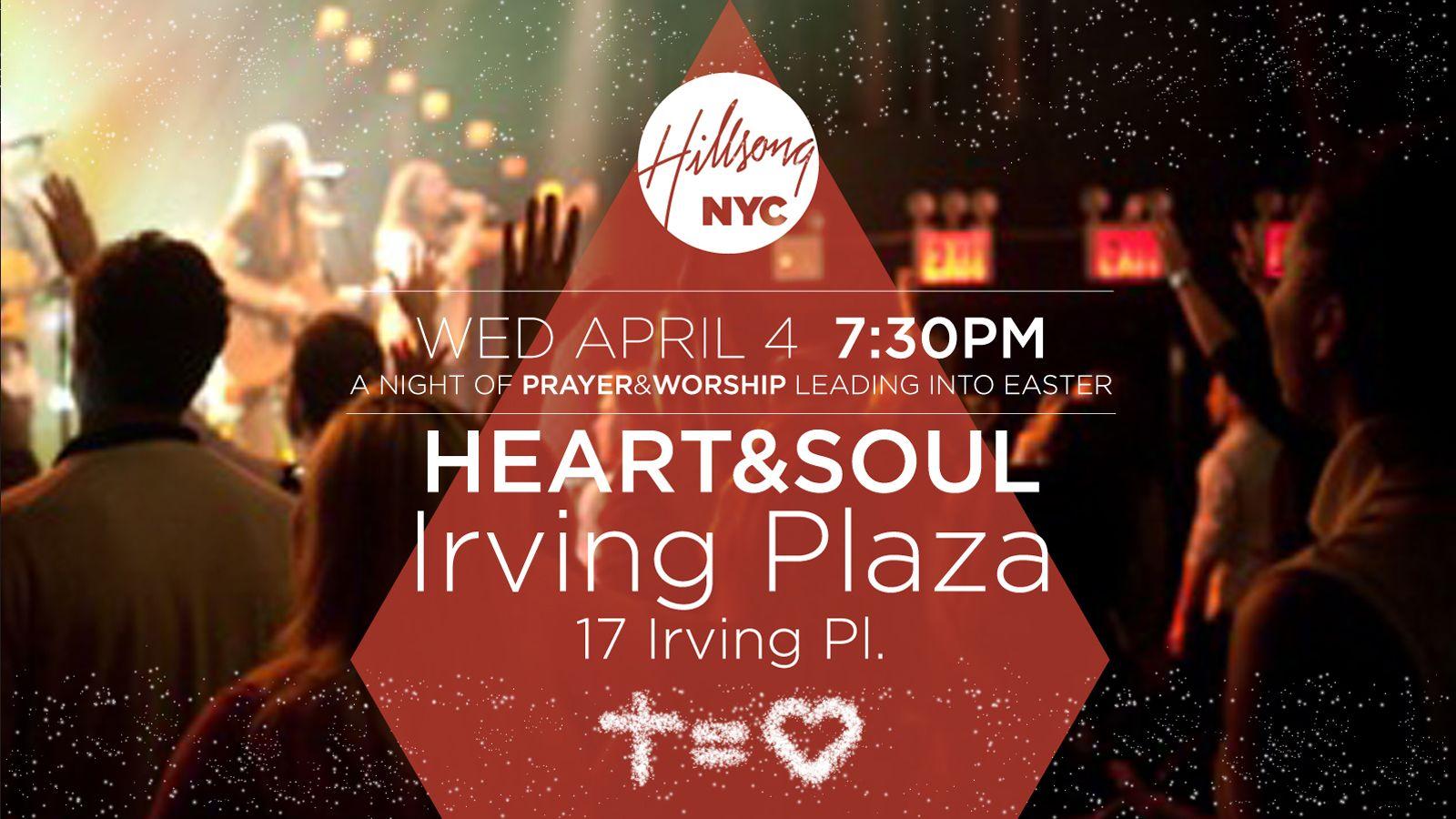 Irving Plaza Hillsong