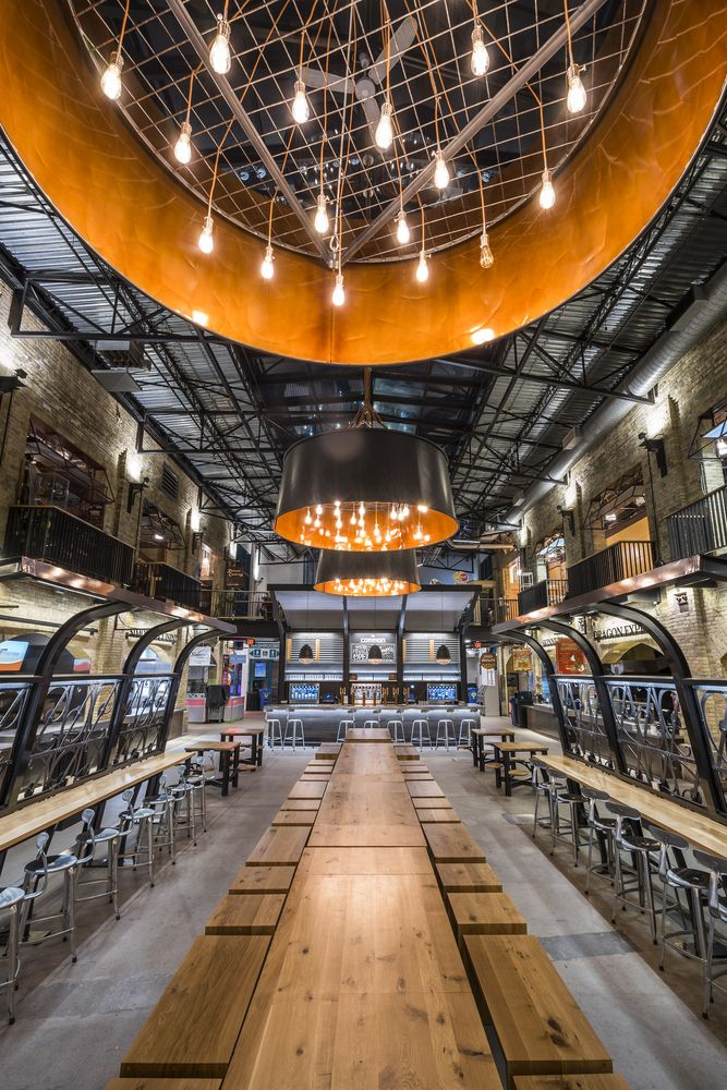 Gallery Of The Forks Market Food Hall Number Ten Architectural
