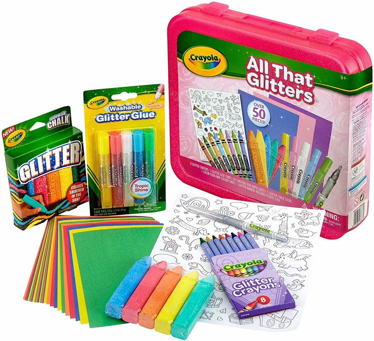 Crayola all that glitters art set only 942 best price