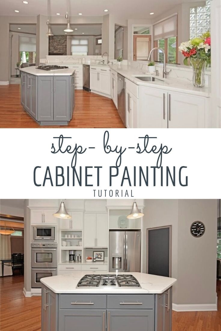 Learn To Paint Your Cabinets Like A Pro Modern Farmhouse White Cabinets Grey Cabinets Diy Painted Kitchen Cabinets Tutori Diy Kitchen Cabinets Painting