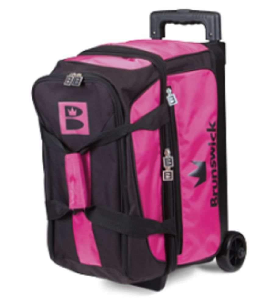 2 Balls 71095 Brunswick Blitz 2 Ball Roller Bowling Bag Color Pink Buy It Now Only 62 95 On Ebay Balls Brunswick B Bowling Bags Bowling Shoes Bowling